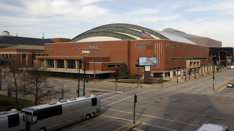 The U.S. Cellular Arena will have a different name starting in June after U.S. Cellular decided not to renew its naming rights.