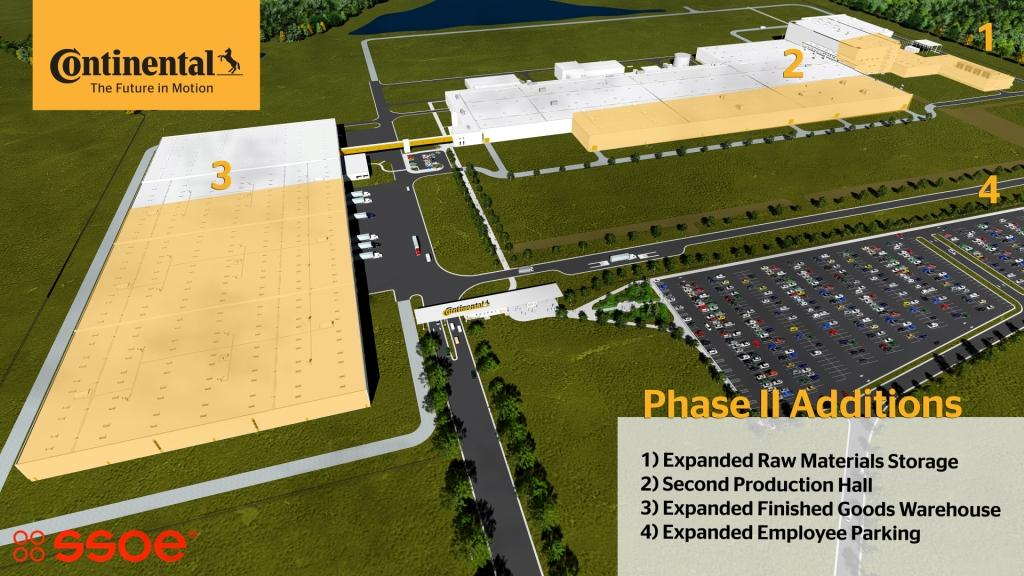 Continental Tire The Americas Starts The Second Phase At Its Sumter