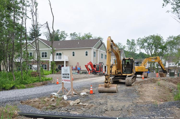 Windsor Development Group, one of the largest commercial property owners in the region, is building The Hamlet at Slingerlands, a 50-unit luxury apartment complex in Bethlehem, near Price Chopper Plaza.