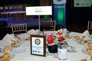 The annual CFO of the Year awards luncheon at the Crystal Tea Room in Philadelphia.