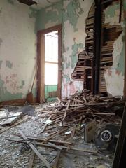 Some of the rooms are in tatters but can be saved