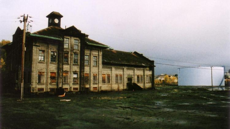 A side view of the Gas and Coke Building, the demolition of which could take between six and eight weeks.