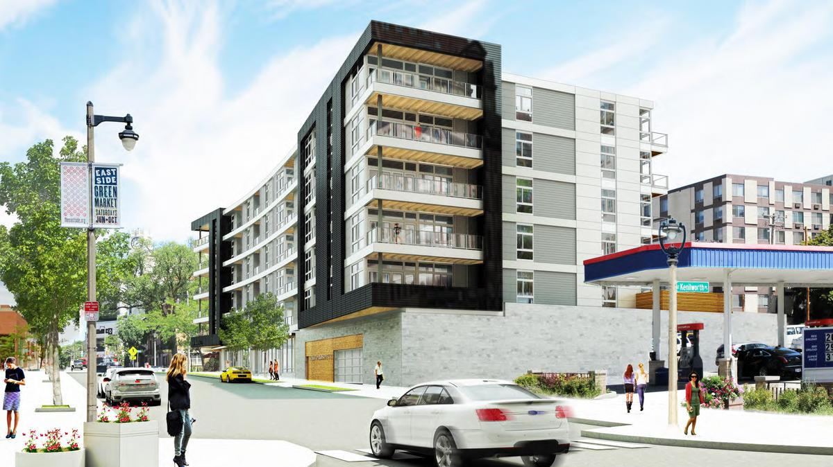 Prospect Avenue Parking Lot To Be Redeveloped Into Six Story