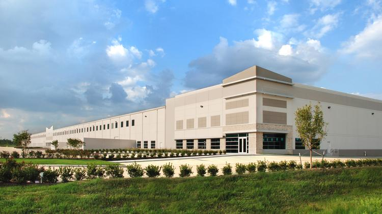 The first phase of Bay Area Business Park (shown) includes three buildings, delivered in 2009, that total 1.2 million square feet. That phase is 100 percent leased to tenants including Honeywell International (NYSE: HON) and Calpine Corp. (NYSE: CPN)