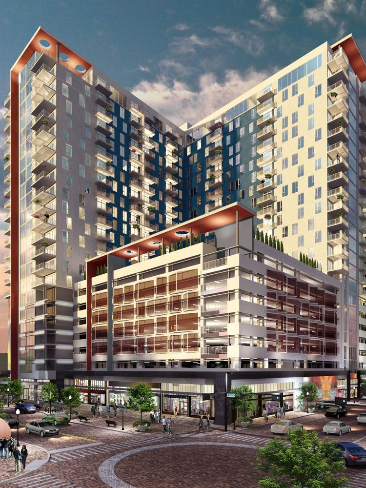 23 Story Apartment Tower In Downtown Tampa Moves Forward New Renderings