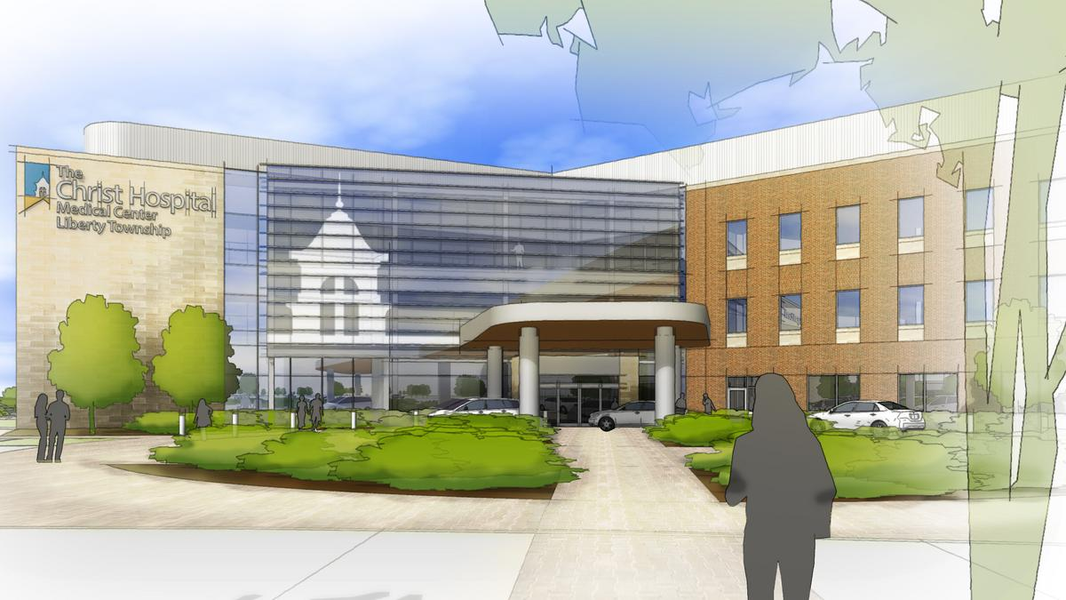 Christ hospital reveals design for liberty township medical center cincinnati business courier
