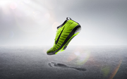 """Nike Free Hyperfeel: Remember the infamous Nike waffle iron shoe? The Nike Free Hyperfeel has """"waffle pistons for grip and feel."""" It's designed to give runners a barefoot-running sensation."""