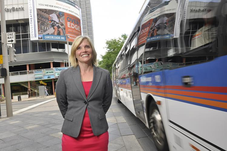 Tami Door, president and CEO of the Downtown Denver Partnership.