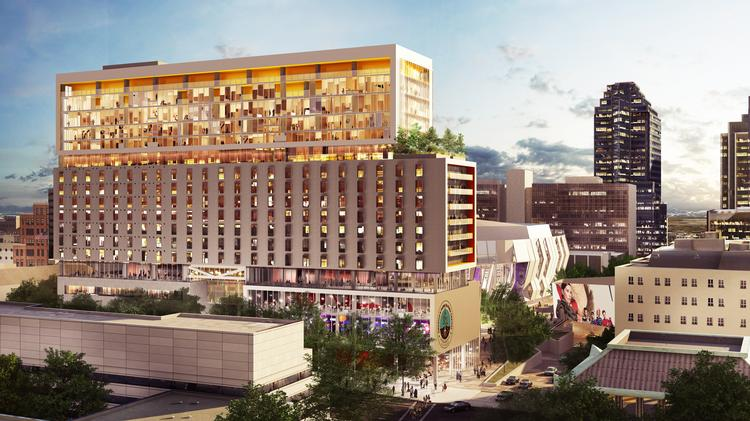 A Rendering Of The Hotel And Mixed Use Development That Will Include Kimpton Sawyer