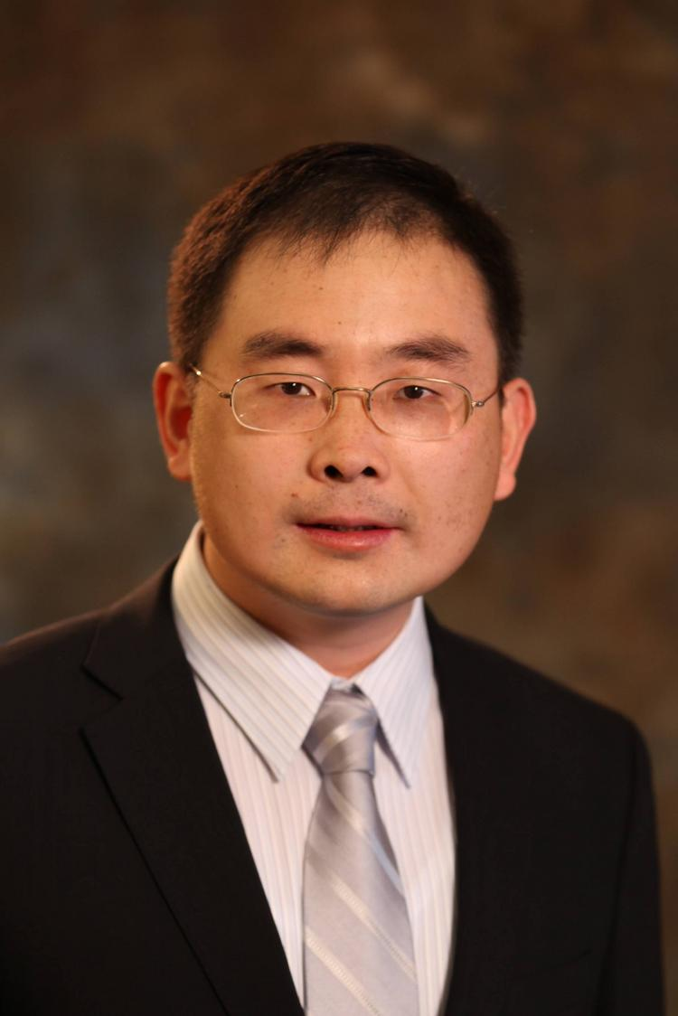 Lidong Qin, principal investigator for a $2.1 million grant to develop a pocket-sized drug test.