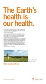 Dignity Health launches effort to bring humanity back into health care