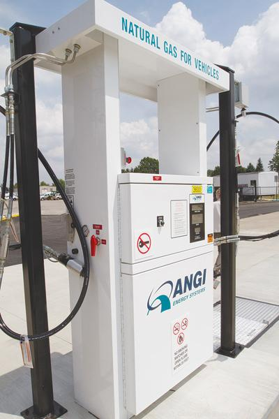 State Reps. Sean O'Brien, D-Hubbard, and Dave Hall, R-Millersburg, want CNG stations to flourish in Ohio.