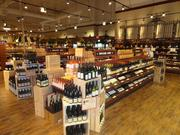 The Fresh Market's wine section