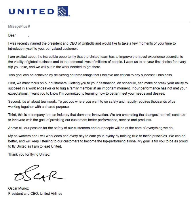 Meet Oscar Munoz The New Ceo Of United Airlines Who Was