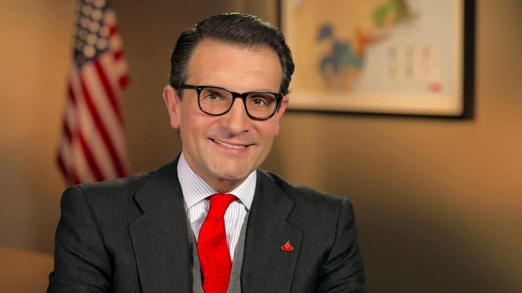 Jorge Moran has stepped down as CEO of Sovereign Bank, leaving parent company Santander.