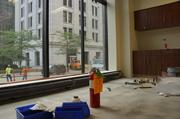 The building will house more than 600 Northwestern employees.