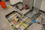 There are eight-inch spaces underneath the floor in the offices, leaving space for new telecommunications equipment to be installed as technology improves in future years.
