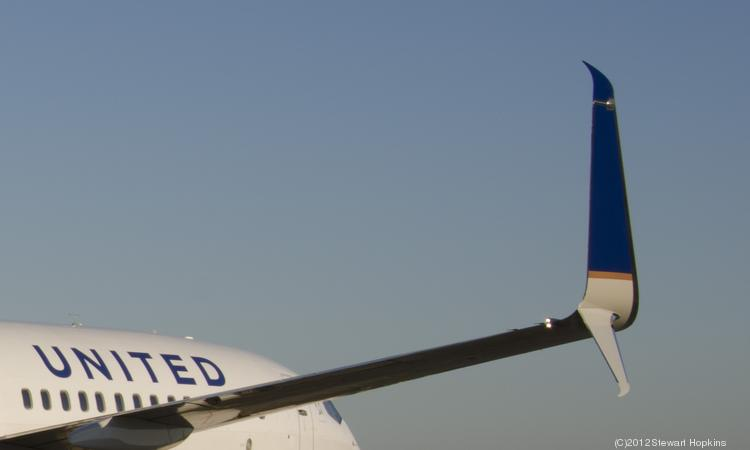 United Airlines hopes to begin installing a new Split Scimitar winglet on its Boeing 737 aircraft next year.