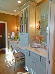 Locust Creek House 1: Master bathroom