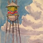 Broad Avenue's water tower to get fresh look