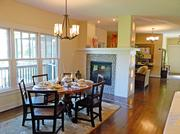 Locust Creek Home No. 3: Dining area off of the kitchen