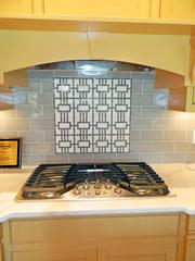 Locust Creek Home No. 3: Backsplash above stovetop