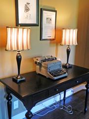 Locust Creek Home No. 3: Old typewriter serves as an accent piece