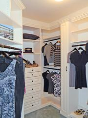 Locust Creek Home No. 4: Master bedroom closet