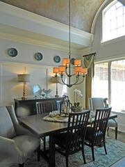 Locust Creek No. 6: Richard Miles of Landmark Custom Homes/Dogwood Homes built this house. Robin Cole of Robin's Nest Interiors did the interior design.