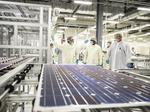 Without Mission Solar, who are the 12 U.S. solar cell makers left?