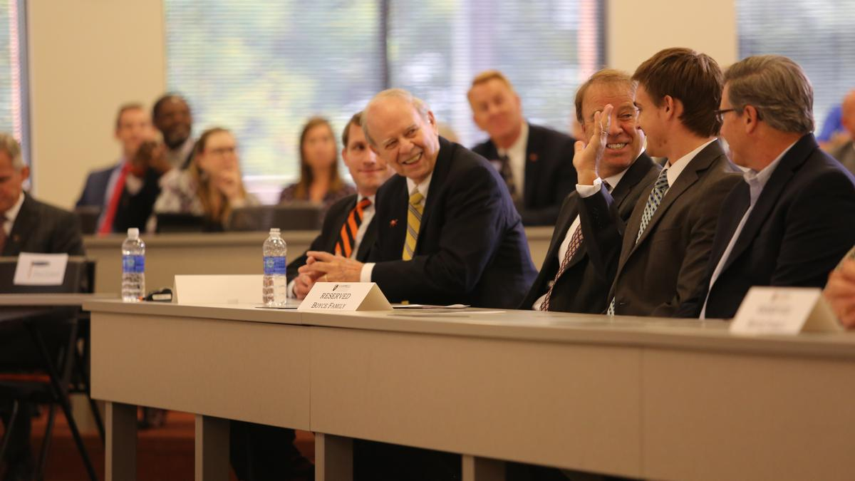 Campbell Law School >> Raleigh Attorney G Eugene Gene Boyce Commits Record Gift