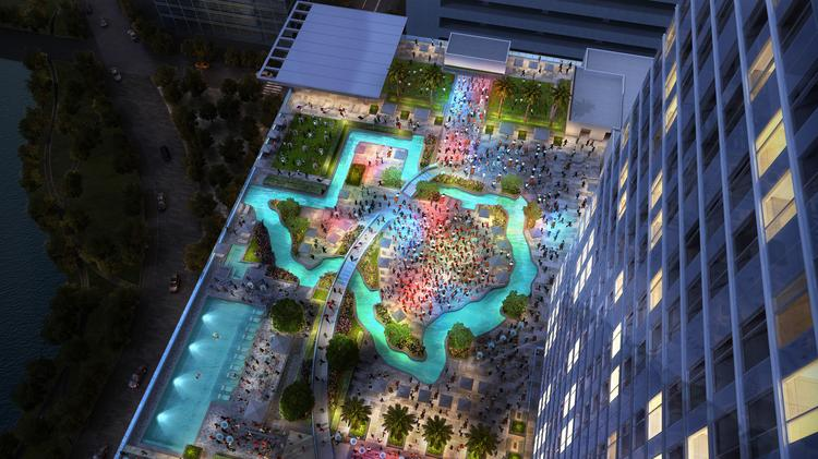 The Marriott Marquis Is One Of Most Highly Aned Hotel Projects In Houston And
