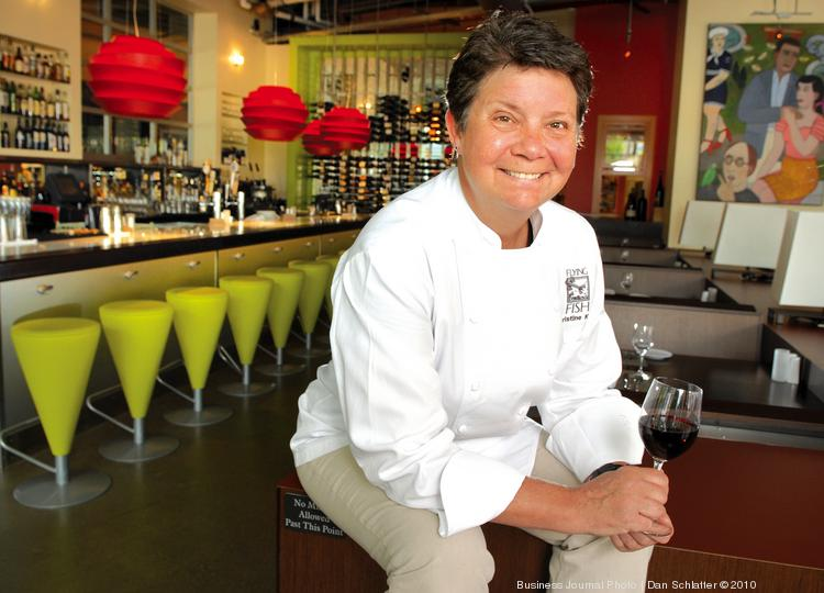 Seattle chef christine keff sells flying fish to chinese for Dans keff
