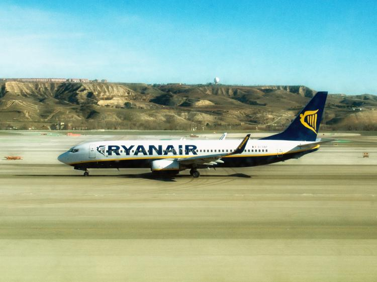 A Ryanair Boeing 737. The Irish airline is reportedly on the verge of making a huge order for more Boeing airplanes.