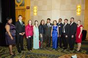 Montgomery County celebrated leaders in leadership June 20 at the Bethesda North Marriott Hotel and Conference Center with the 24th annual Celebration of Leadership. Honorees pose for a photo.