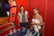 Beer pong kept guests entertained before the show.