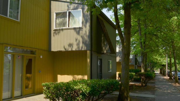 The Plaza Townhomes in North Portland have sold to a California investment firm.