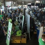 Photos: Drones, A.I. and Snoop Dogg's blooming marijuana media empire at TechCrunch Disrupt