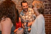 Chef Shane shares a laugh with his mother, Betty McIntosh of Cushman & Wakefield in Atlanta.