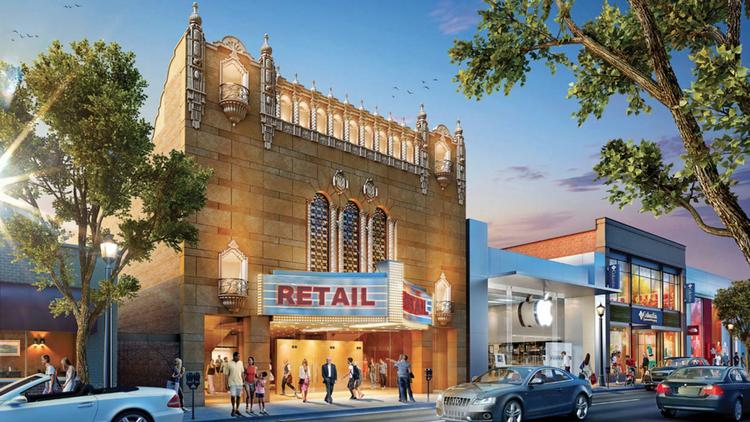 Elion Partners is planning a retail redevelopment for the former Suburban World Theater.