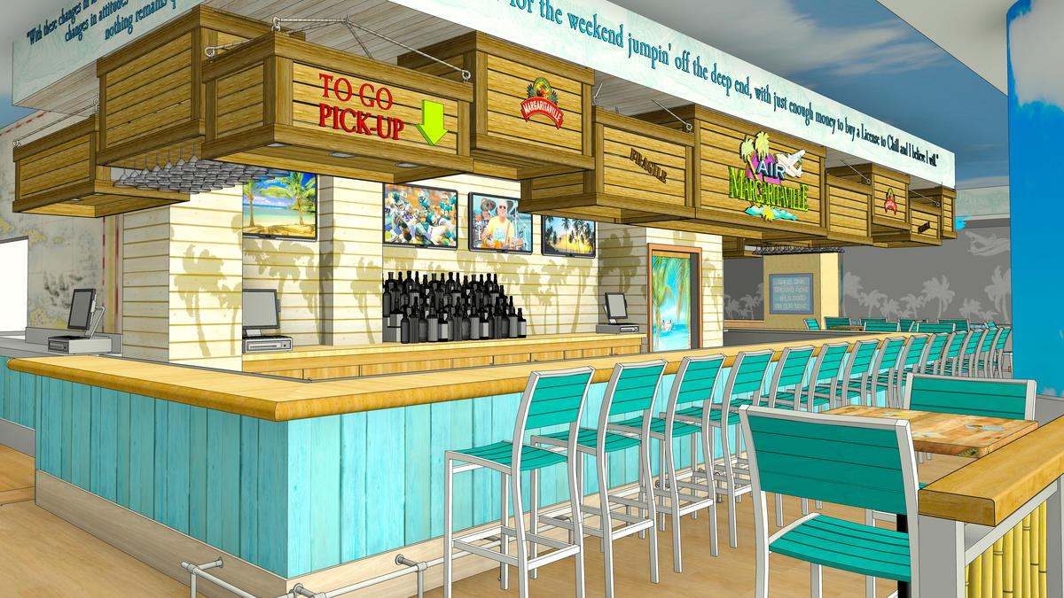 Margaritaville Restaurant Opens In Miami International Airport South Florida Business Journal