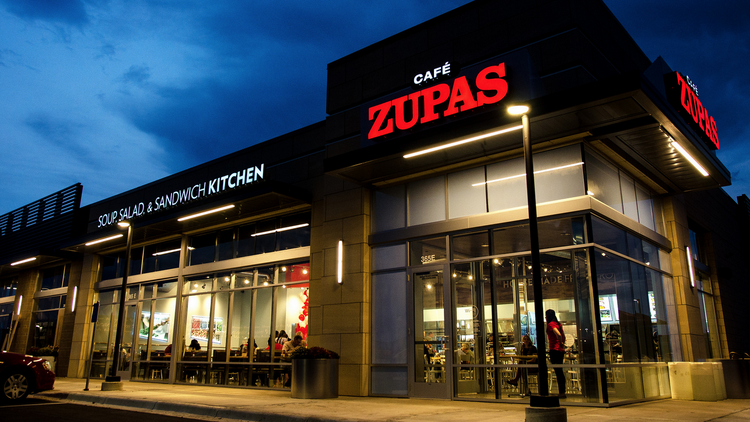 A Cafe Zupas Will Be Part Of The Redevelopment Eden Prairie S Santorini Restaurant