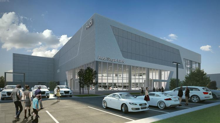 Sugar Land To Get An Audi Dealership MercedesBenz Coming To - Sewell audi