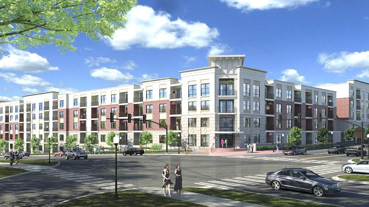 Dominion Plans To Start Work Soon On The Five Story 1010 West Trade  Apartment Complex