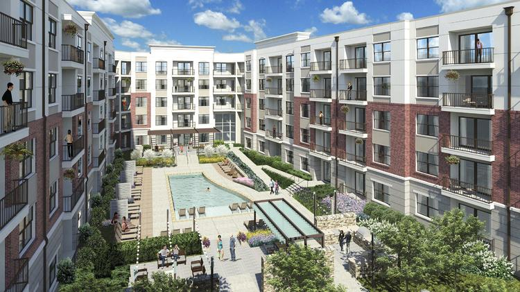 Delightful Dominion Realty Partners Plans To Build A 294 Unit Apartment Project Near  Gateway Village.