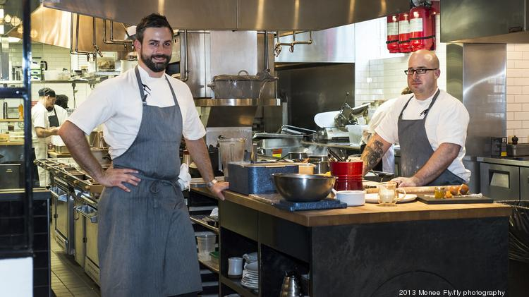 The Pass & Provisions executive chefs Seth Siegel-Gardner and Terrence Gallivan