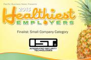 2013 Healthiest Employers Finalist Integrated Security Technologies