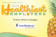 2013 Healthiest Employers Finalist UnitedHealthcare Community and State