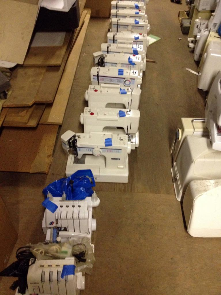 Meissner Donates Sewing Machines Classes To Moms Sacramento Impressive Meissner Sewing Machine Co Inc