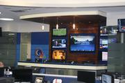 A new interactive news station is among Golf Channel's high-tech features.